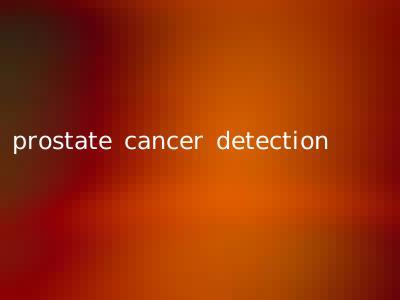 prostate cancer detection