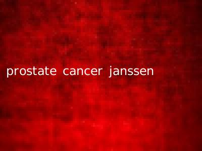 prostate cancer janssen