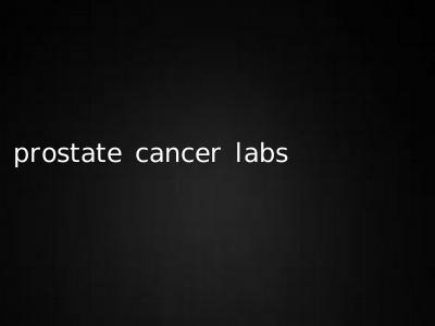 prostate cancer labs