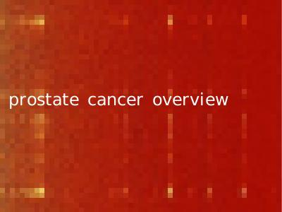prostate cancer overview